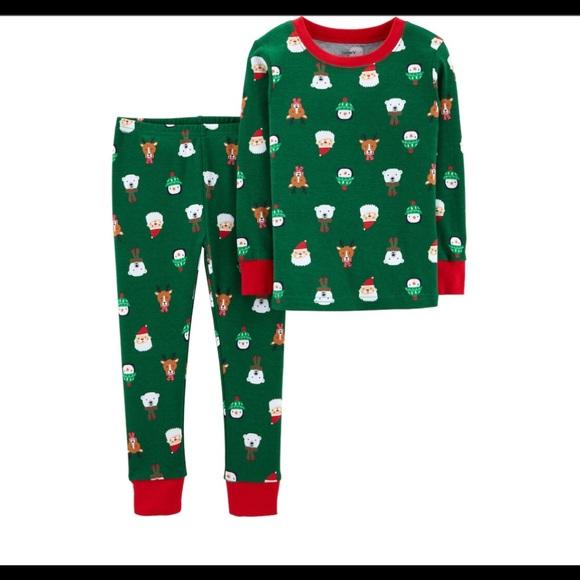Boys Christmas Pajamas.Carters Toddler Boys Christmas Pajama Set Nwt Nwt